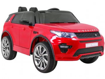 Land Rover Discovery Licensed 12v Electric Ride on Car Red with Parental Control